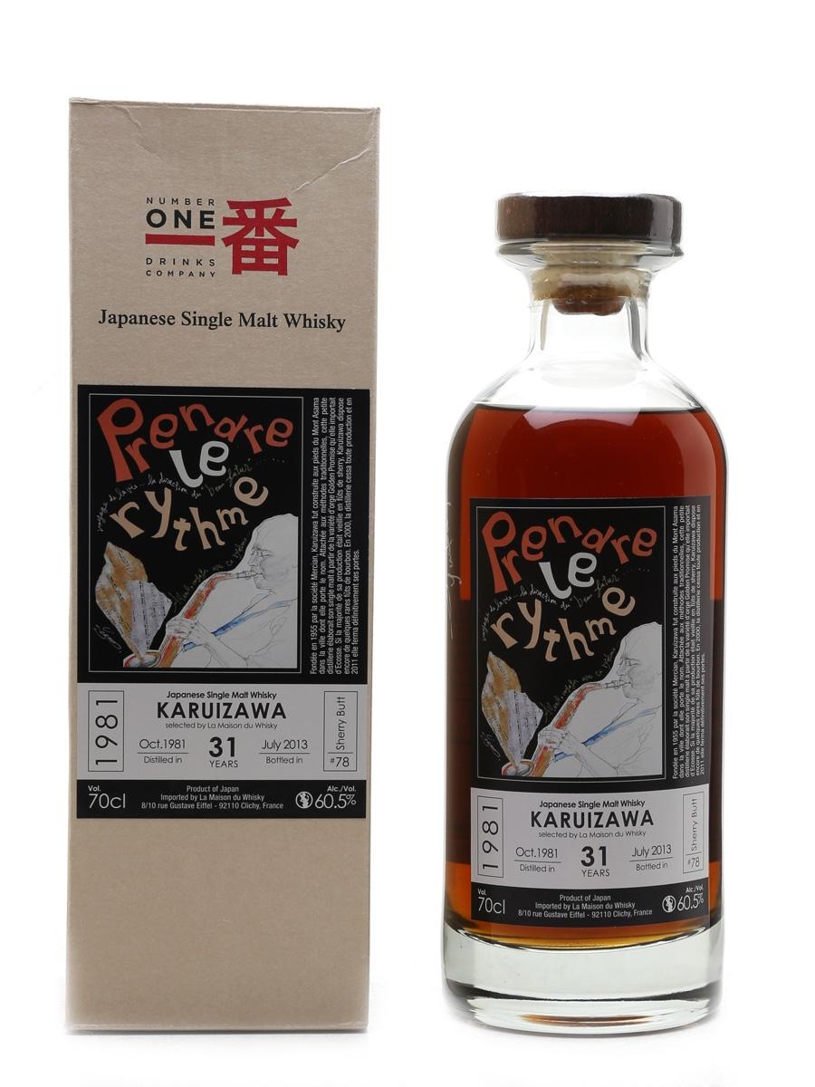 Karuizawa 1981 Cask #78 La Maison Du Whisky - Signed By Yuuka Yamada 70cl / 60.5%