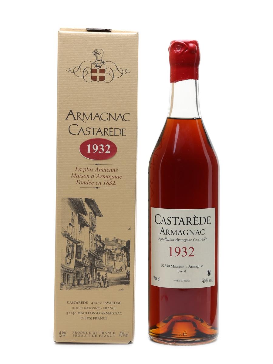 Castarede 1932 Armagnac  70cl / 40%