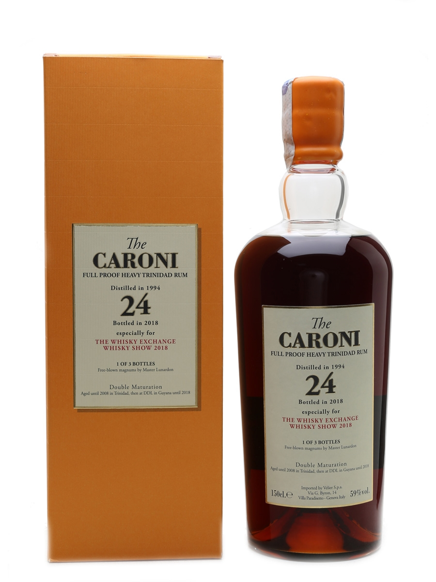 Caroni 1994 Full Proof 1 of 3 Magnums Donated By Velier 150cl / 59%