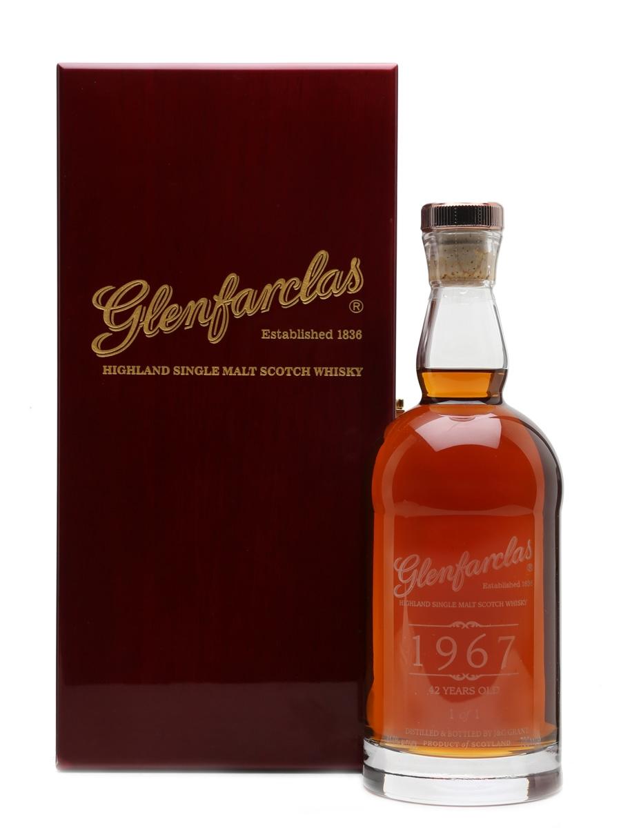 Glenfarclas 1967 - 42 Year Old - 1 of 1 Donated By Glenfarclas 70cl / 41%