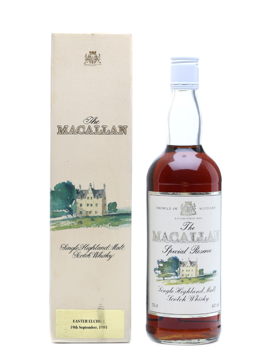 Macallan Special Reserve Easter Elchies 1985 75cl