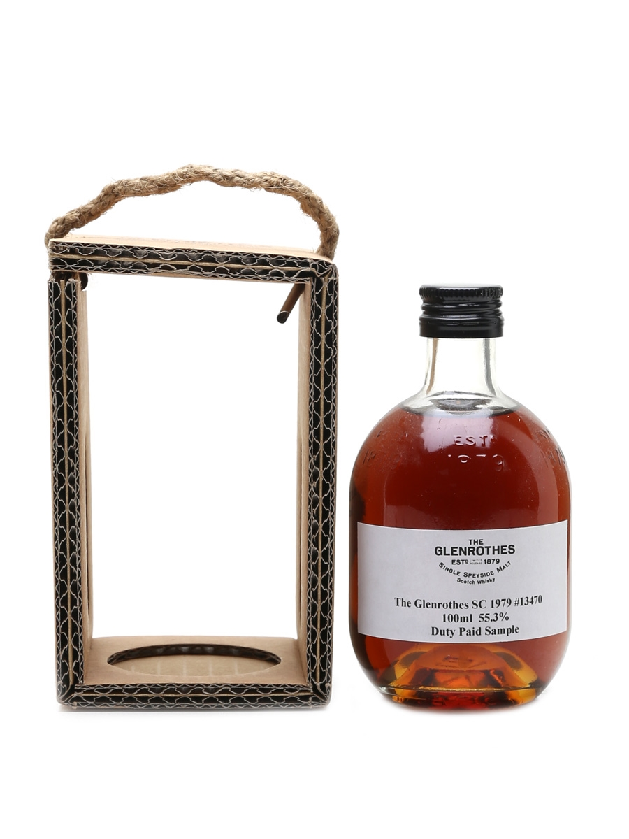 Glenrothes 1979 Duty Paid Sample Cask 13470 10cl / 55.3%