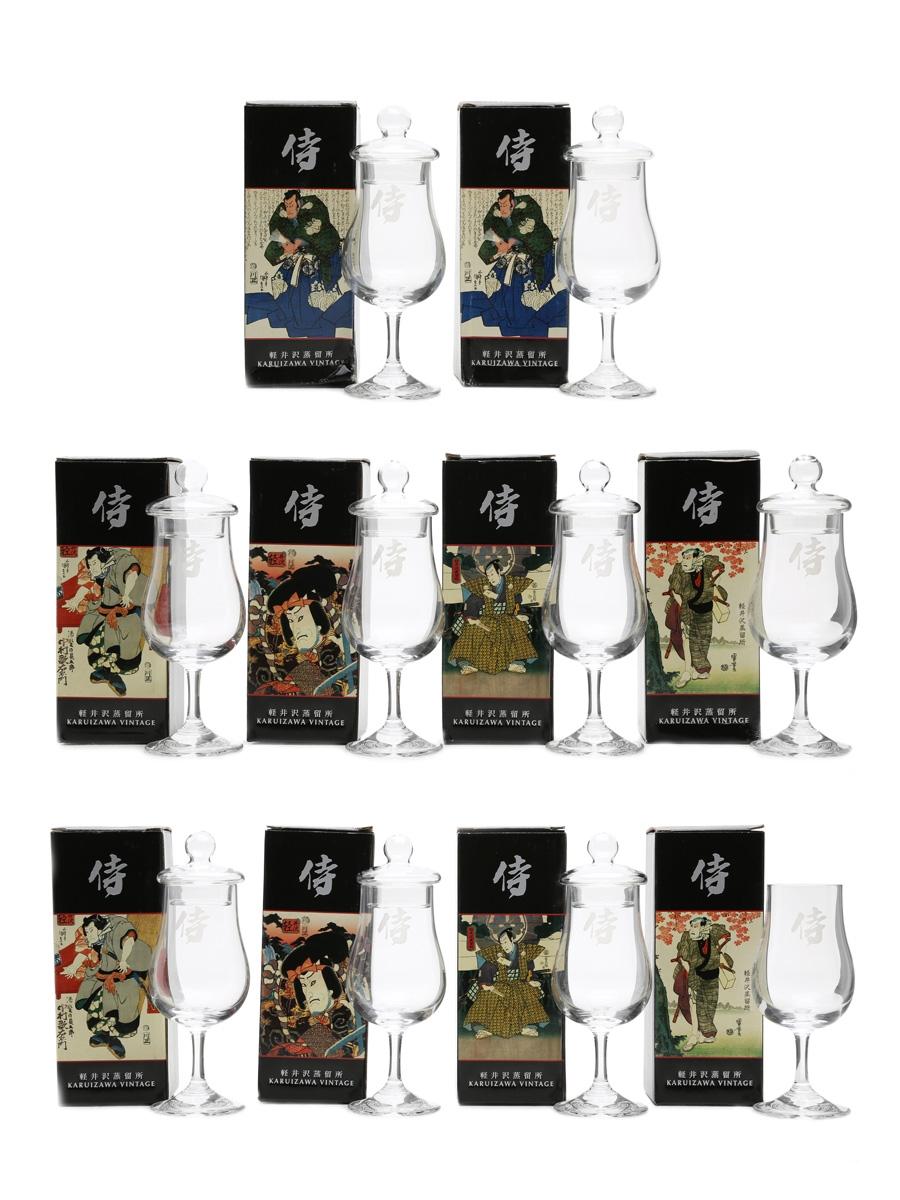 Karuizawa Vintage Tasting Glasses 10 x Glasses