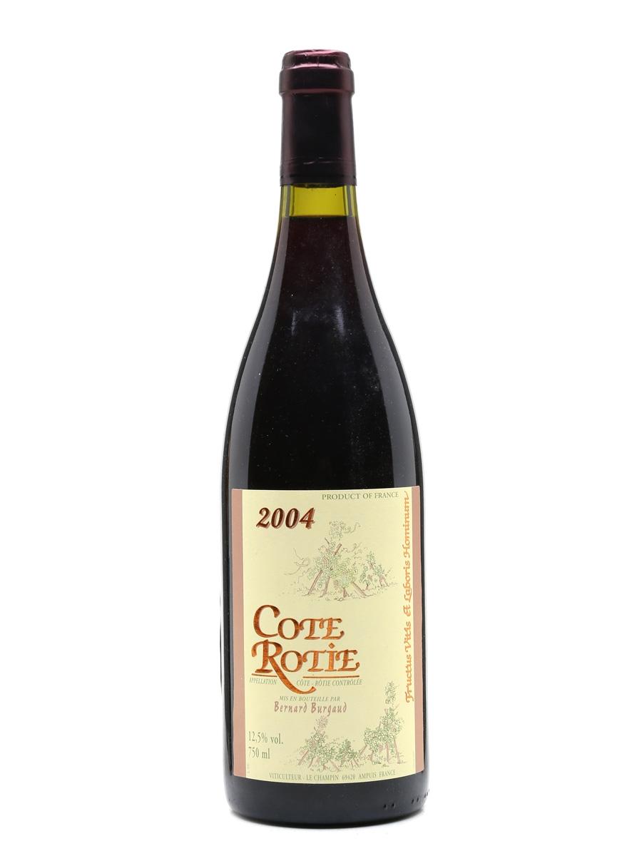Cote Rotie 2004 Bernard Burgaud 75cl / 12.5%