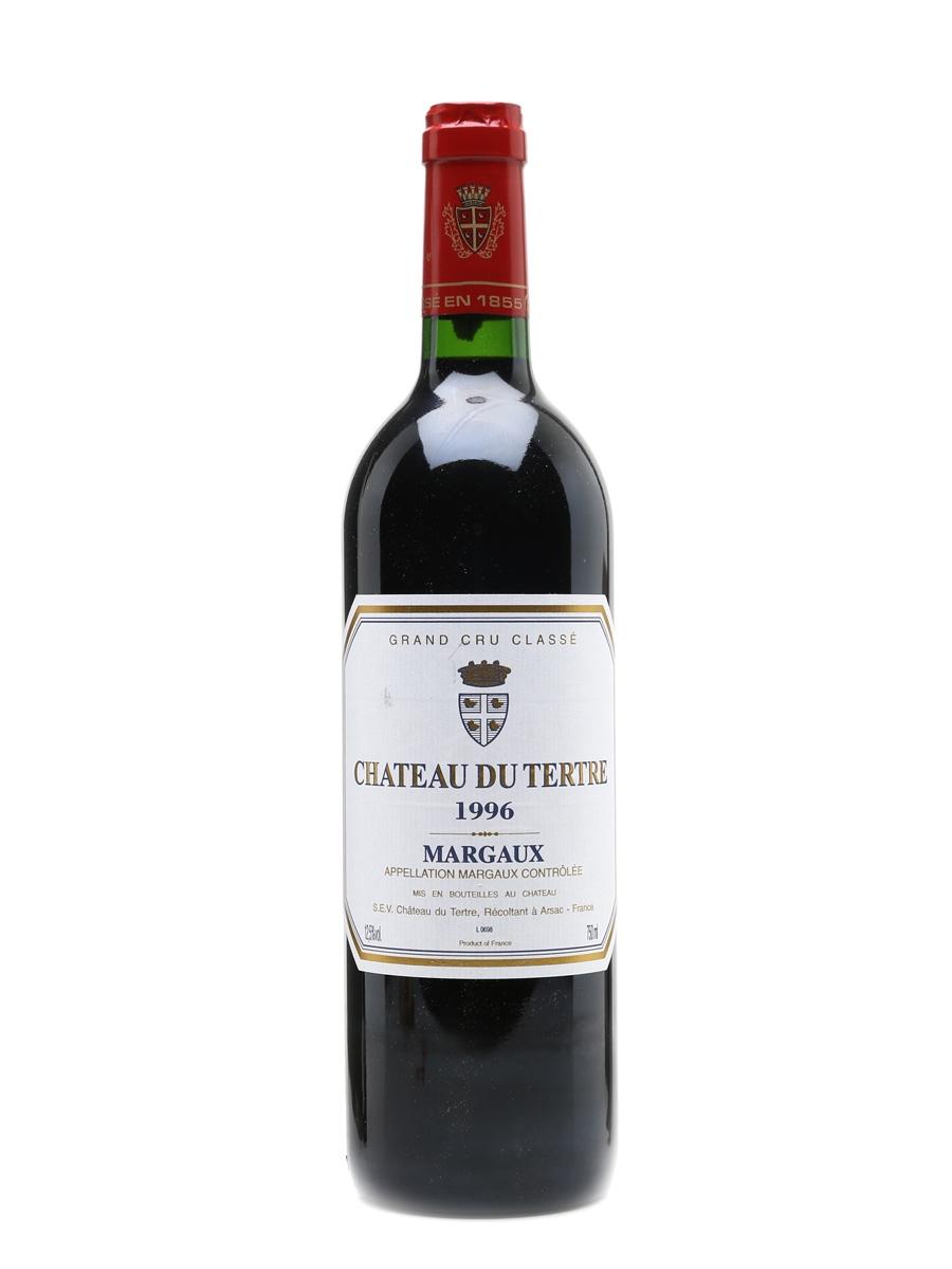 Chateau Du Tertre 1996 Margaux Grand Cru Classe 75cl / 12.5%