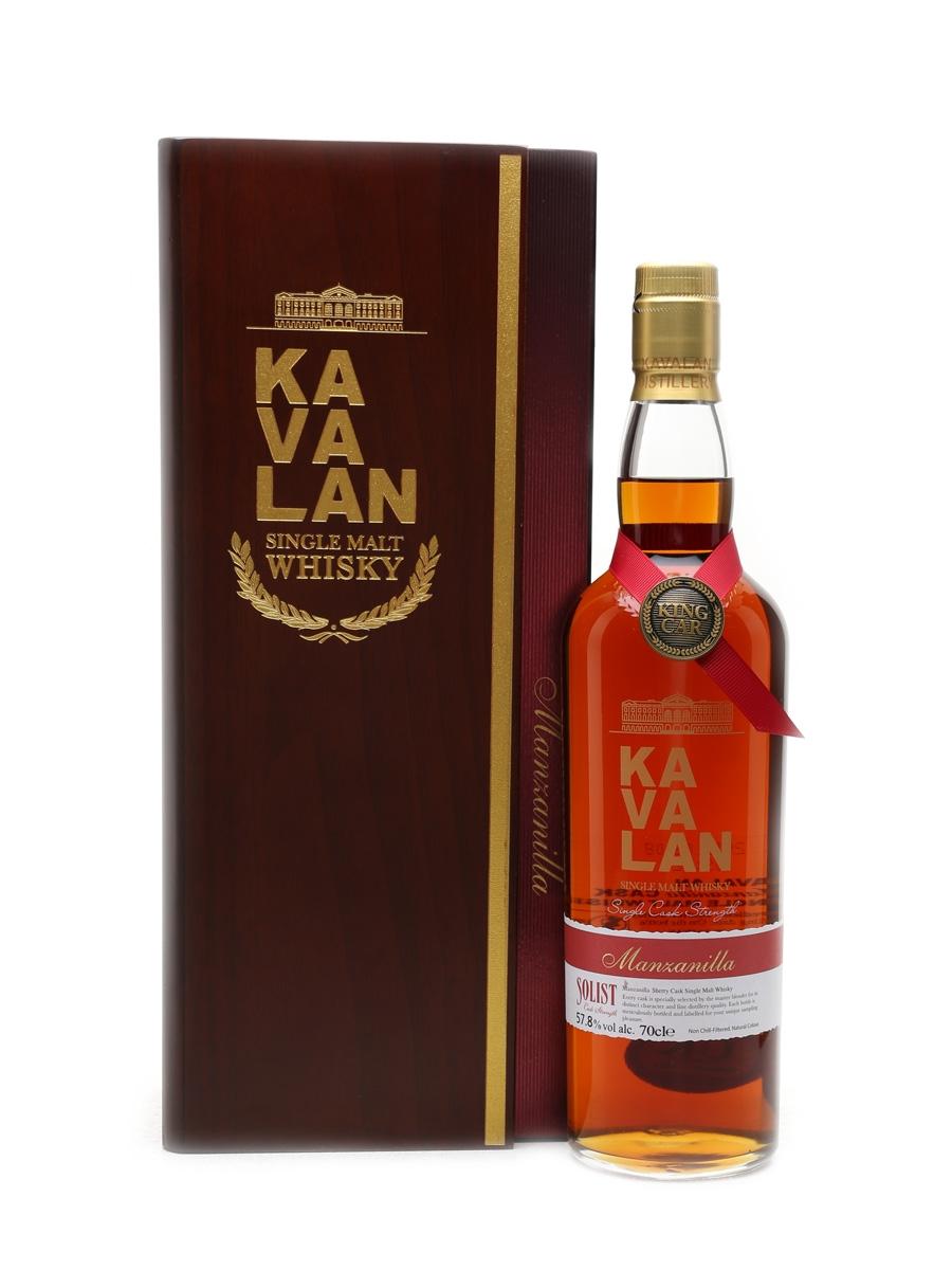 Kavalan Solist Manzanilla Cask Distilled 2011, Bottled 2016 70cl / 57.8%