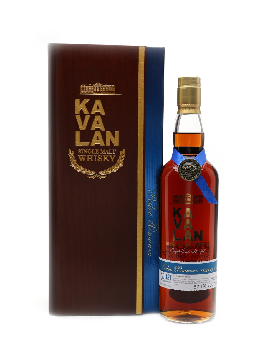Kavalan Solist Pedro Ximenez Cask Distilled 2011, Bottled 2016 70cl / 57.1%