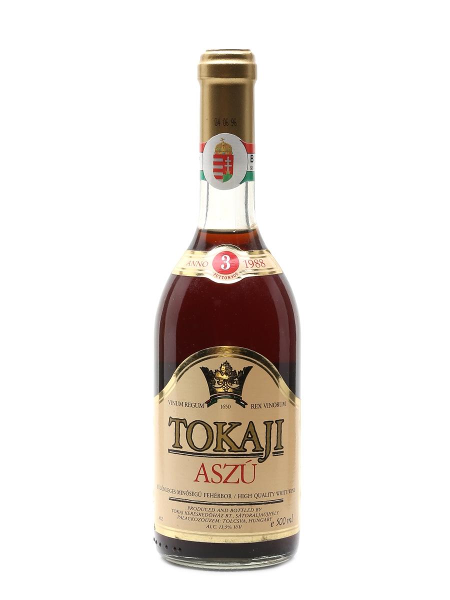 Kereskedohaz 1988 Tokaji Aszu 3 Puttonyos 50cl / 13.5%