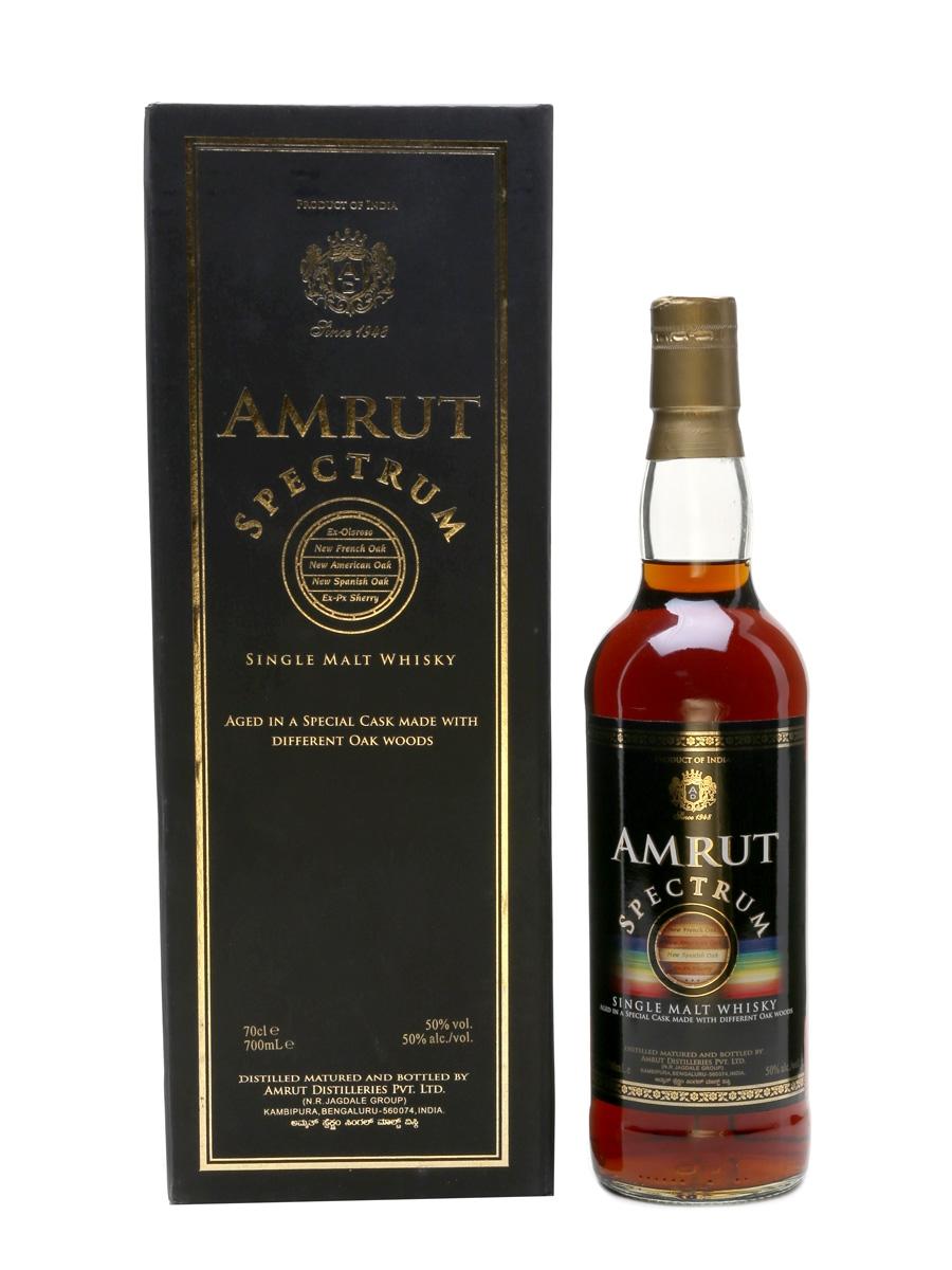 Amrut Spectrum Bottled 2015 70cl / 50%