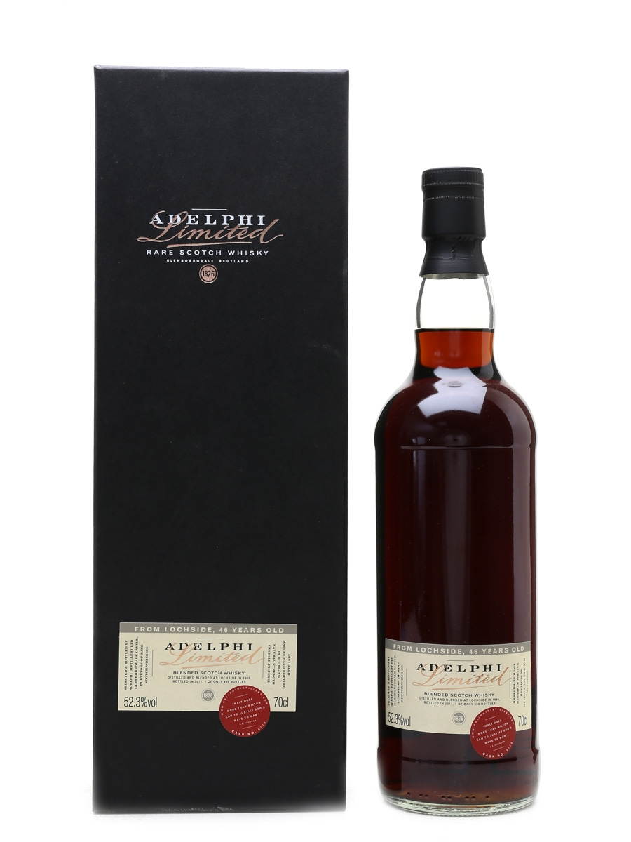 Lochside 1965 46 Year Old Bottled 2011 - Adelphi 70cl / 52.3%