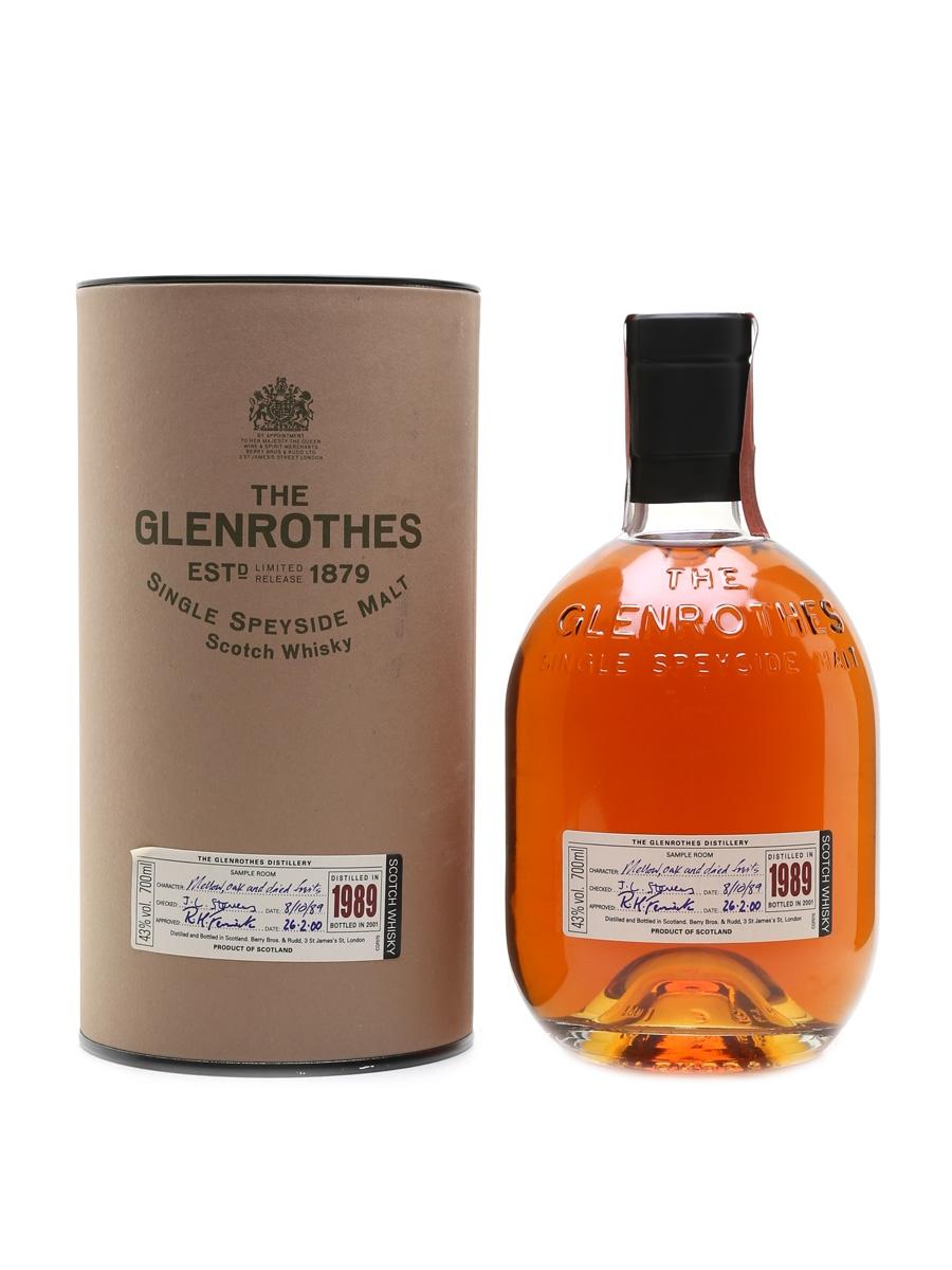 Glenrothes 1989 Bottled 2001 70cl / 43%