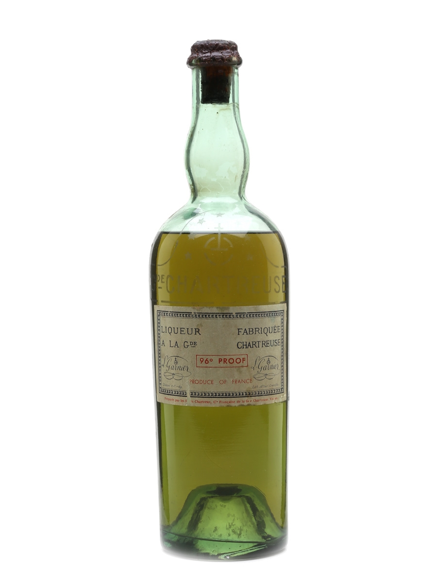 Chartreuse Green Bottled 1941-1951 - France 75cl / 55%