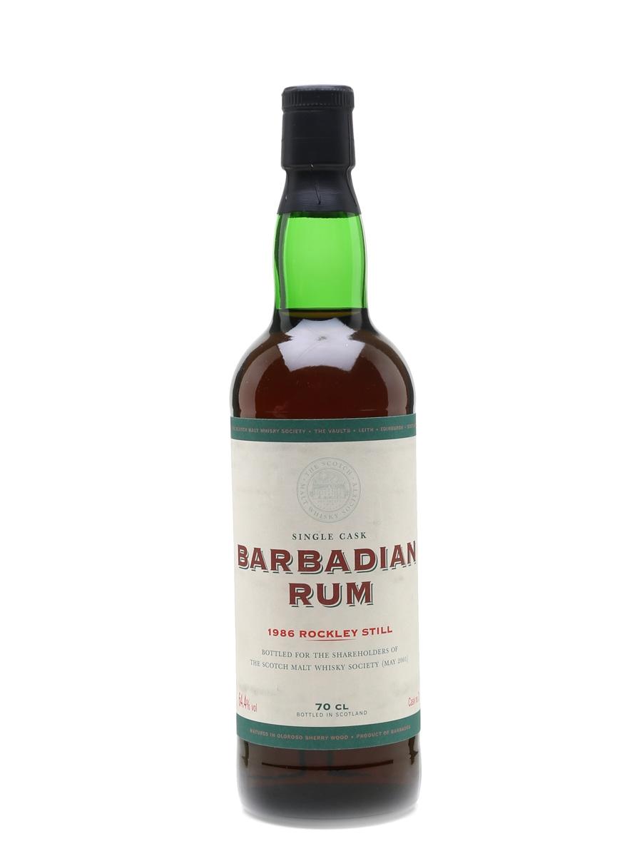 SMWS Barbadian Rum Rockley Still 1986 70cl / 64.4%