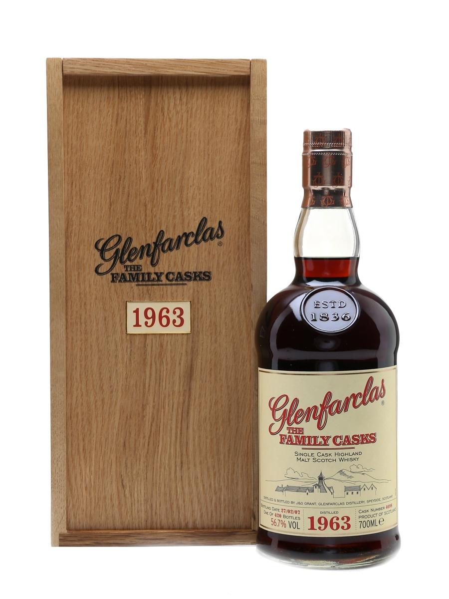 Glenfarclas 1963 The Family Casks Bottled 2007 70cl / 56.7%