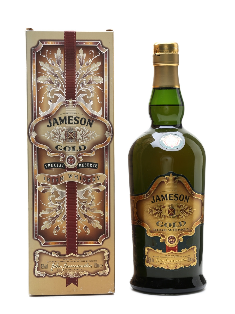 Jameson Gold Old Presentation 75cl / 43%
