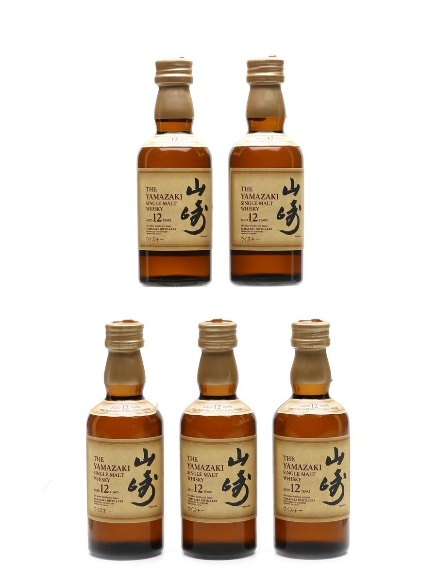 Yamazaki 12 Year Old  5 x 5cl / 43%