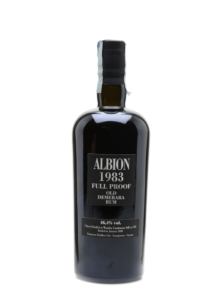 Albion 1983 Full Proof Demerara Rum 25 Year Old - Velier 70cl / 46.4%