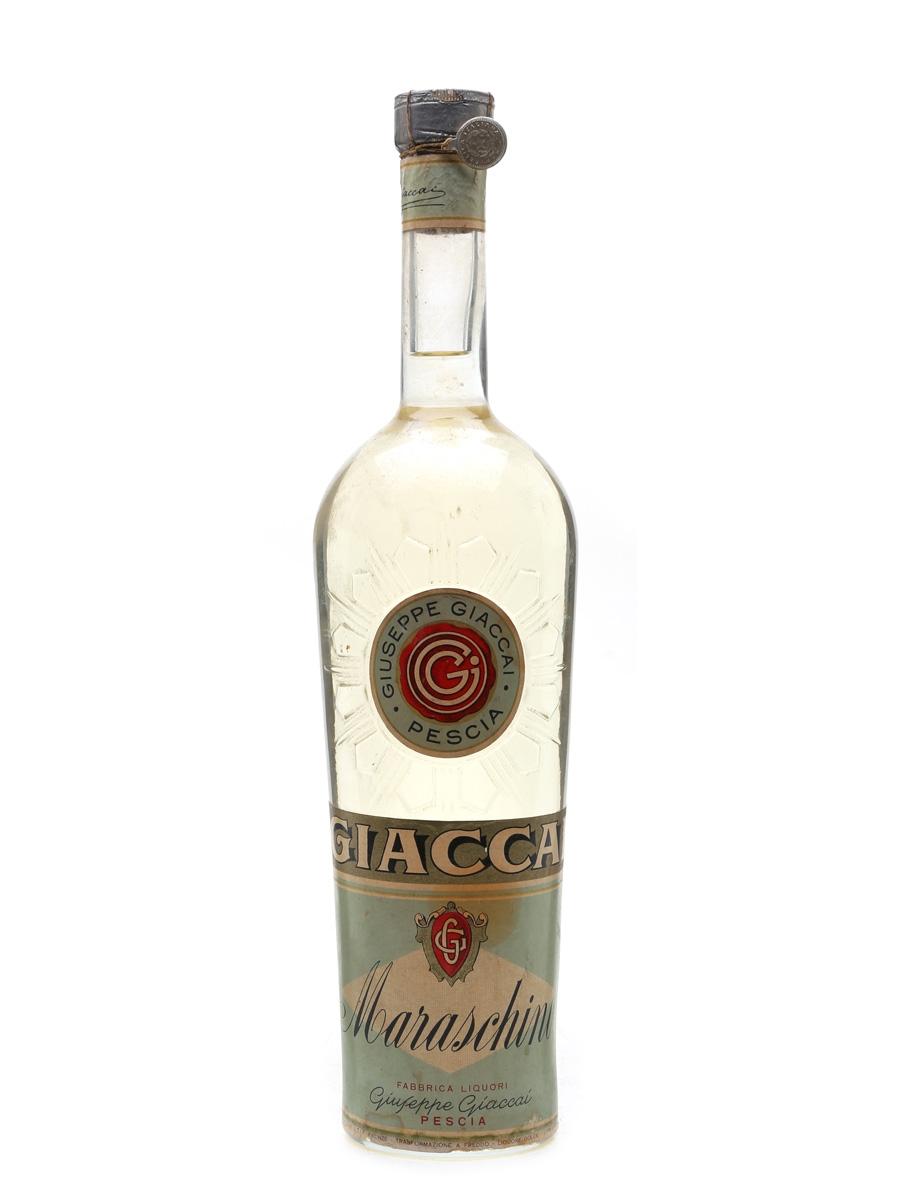 Giaccai Maraschino Bottled 1950s 100cl / 30%