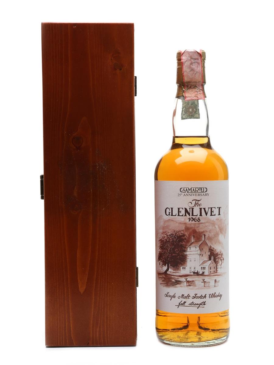 Glenlivet 1968 25th Anniversary - Samaroli 70cl / 49%