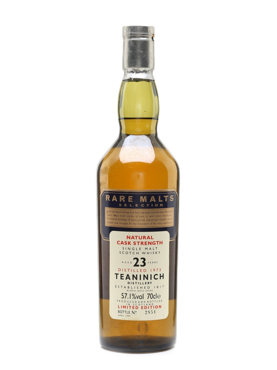 Teaninich 1973 23 Year Old Bottled 1997 - Rare Malts Selection 70cl / 57.1%