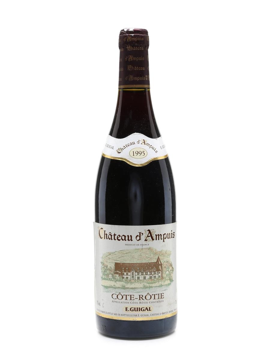 Guigal Cote Rotie 1995 Chateau D'Ampuis 75cl / 13%