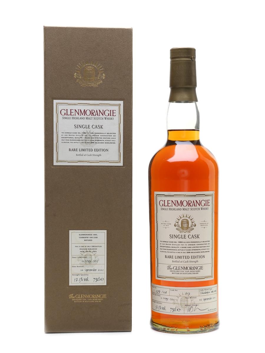 Glenmorangie 1993 Chinkapin Oak Rare Limited Edition 70cl / 57.3%