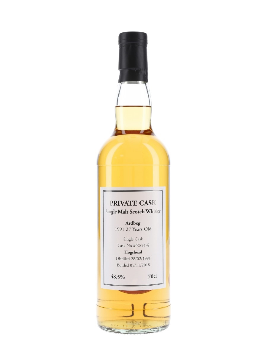 Ardbeg 1991 Private Cask 27 Year Old 70cl / 48.5%