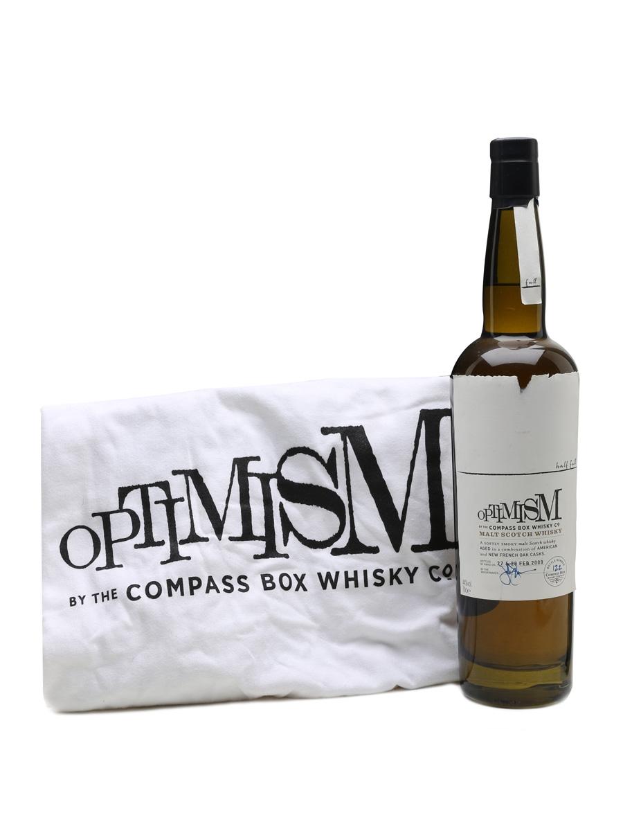 Compass Box Optimism London Whisky Live 2009 (Free T-Shirt) 70cl / 44%