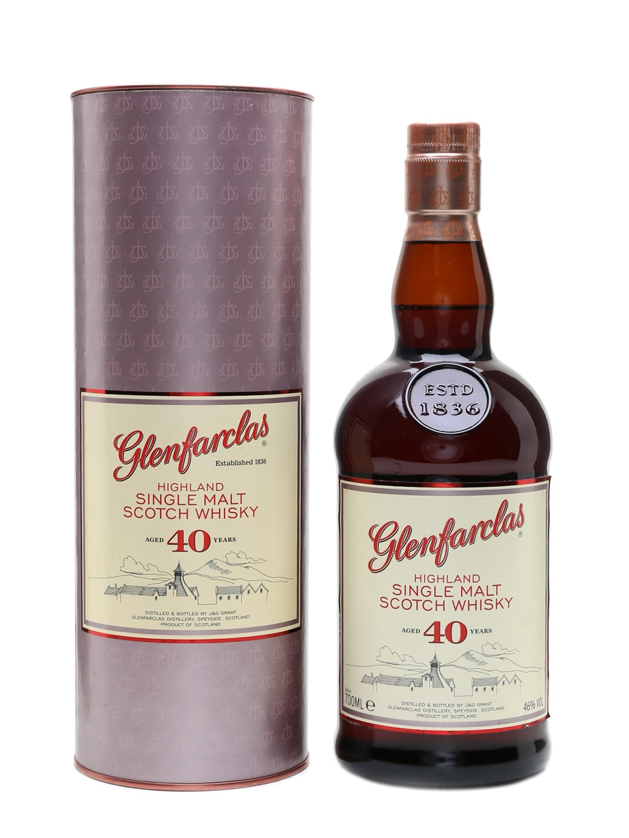 Glenfarclas 40 Year Old  70cl / 46%