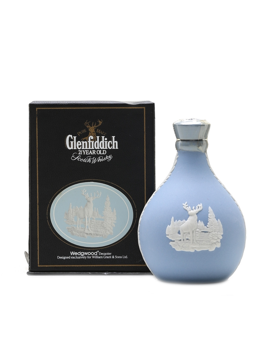 Glenfiddich 21 Year Old Wedgwood Decanter 5cl / 43%