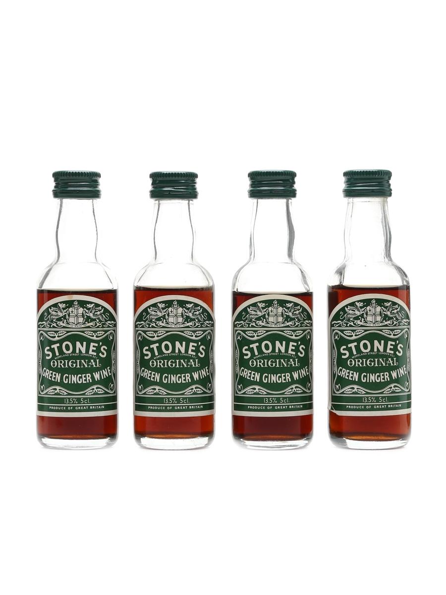Stone's Original Green Ginger Wine  4 x 5cl / 13.5%