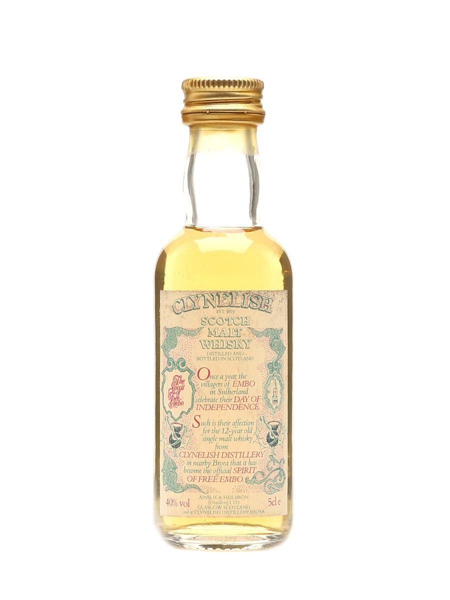 Clynelish 12 Year Old Spirit Of Free Embo 5cl / 40%