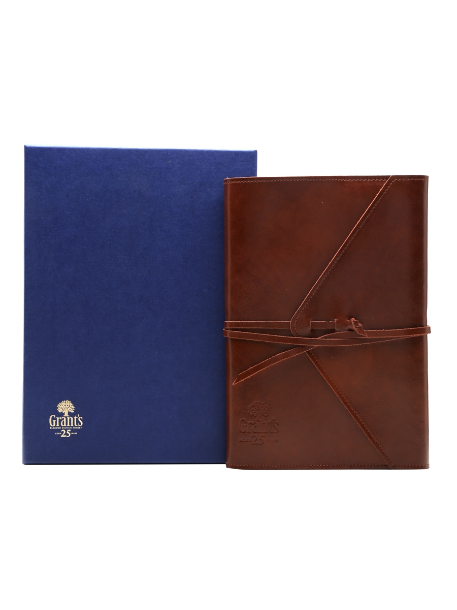Grant's 25 Year Old Leather Notepad Aspinal Of London
