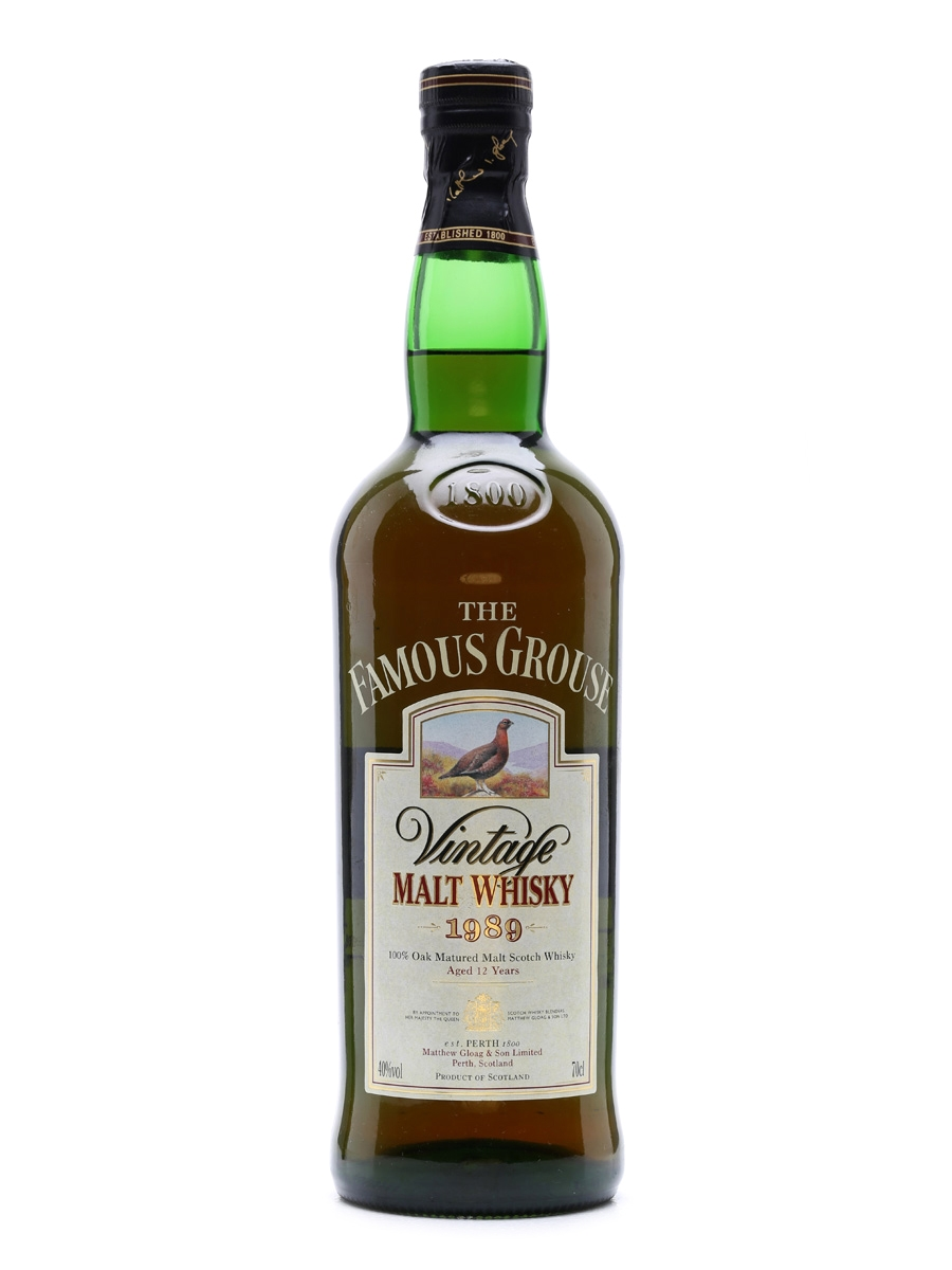 Famous Grouse Vintage 1989 12 Years Old 70cl