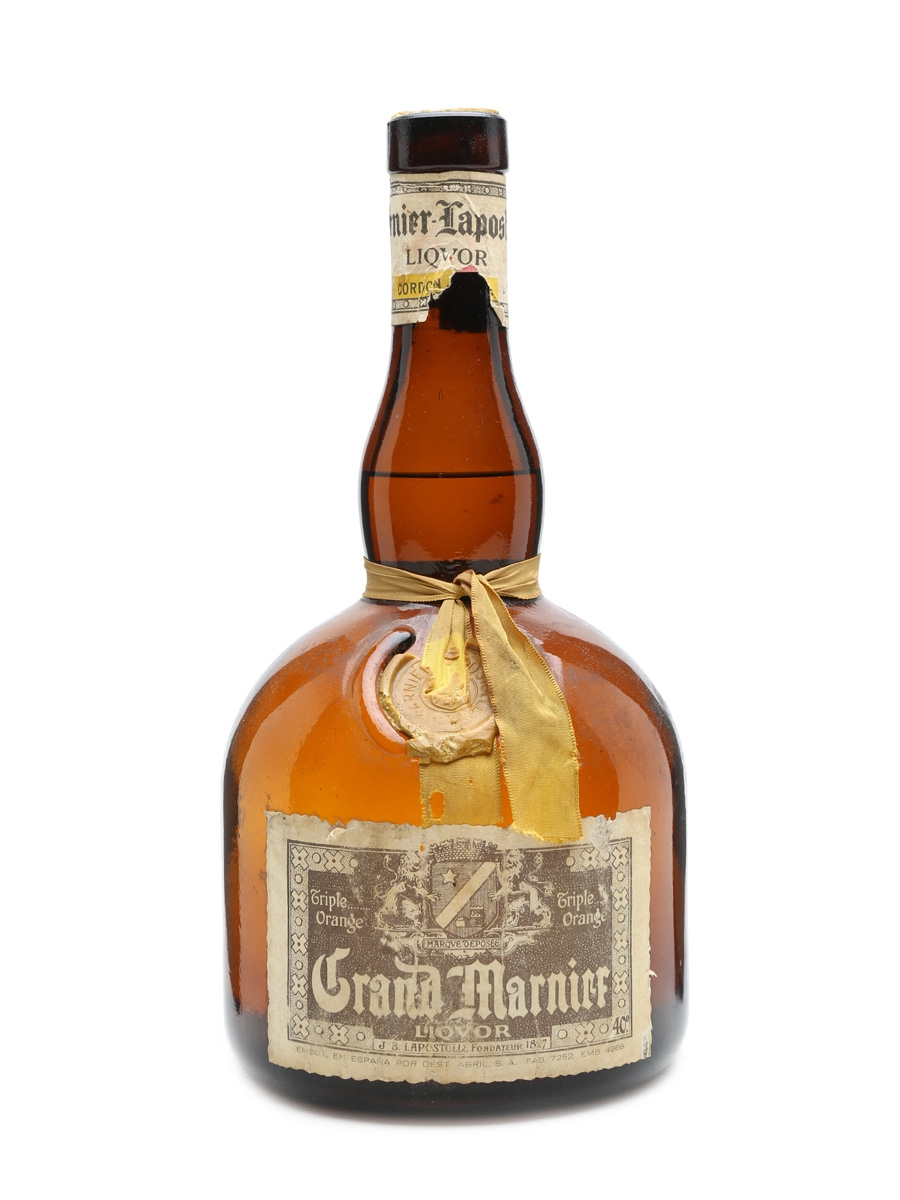 Grand marnier cordon jaune lot 4317 whisky auction for Grand marnier cordon jaune aldi