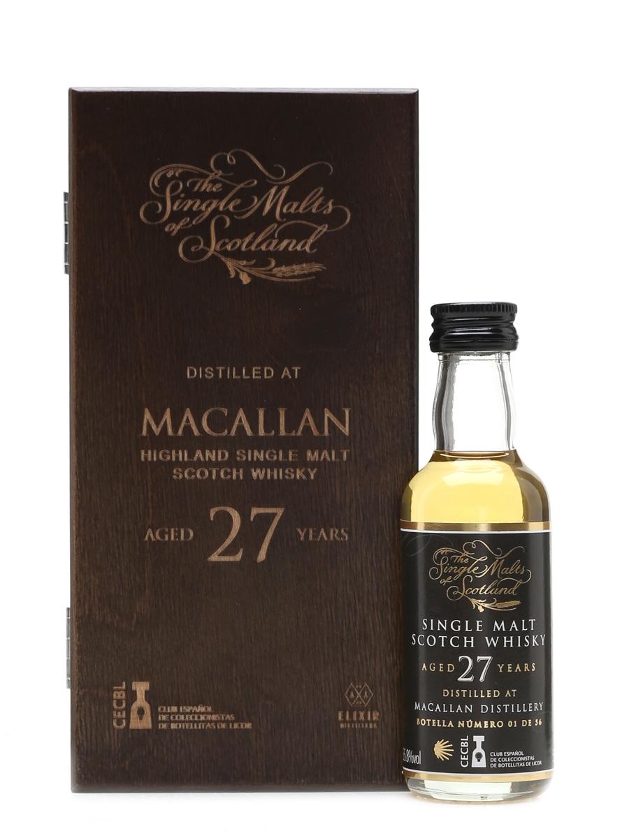 Macallan 27 Year Old 25 Anniversary Camino De Santiago 5cl / 55.8%