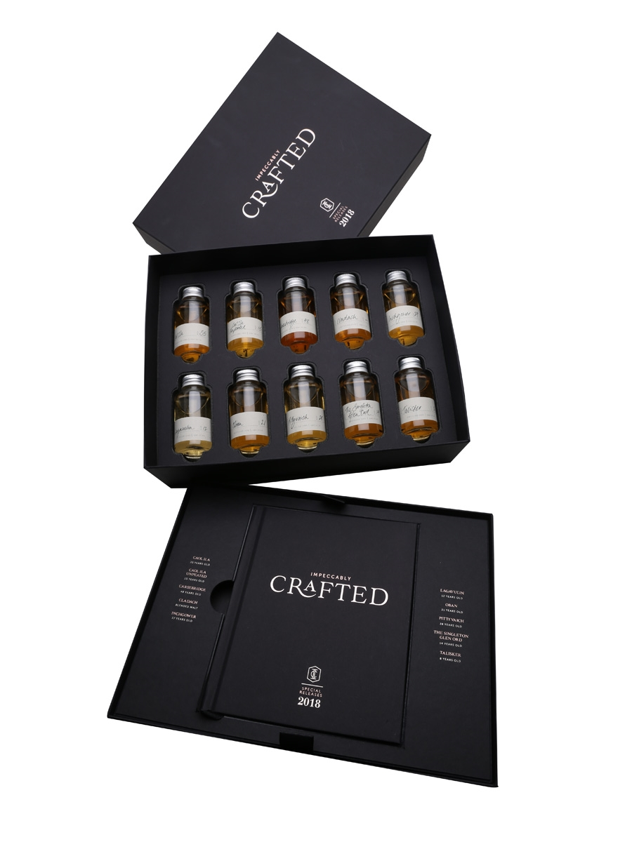 Diageo Special Releases 2018 Impeccably Crafted 10 x 5cl