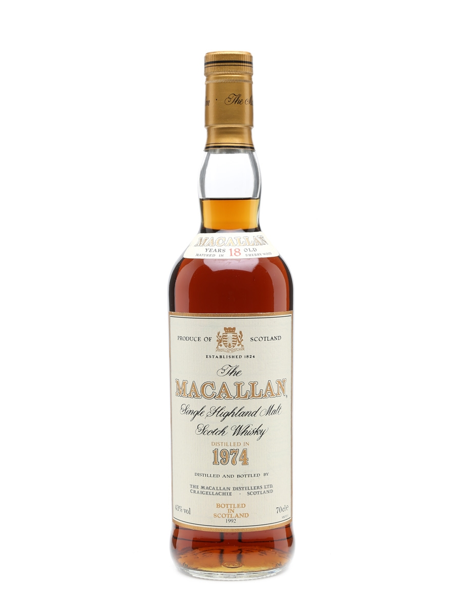 Macallan 1974 18 Years Old 70cl
