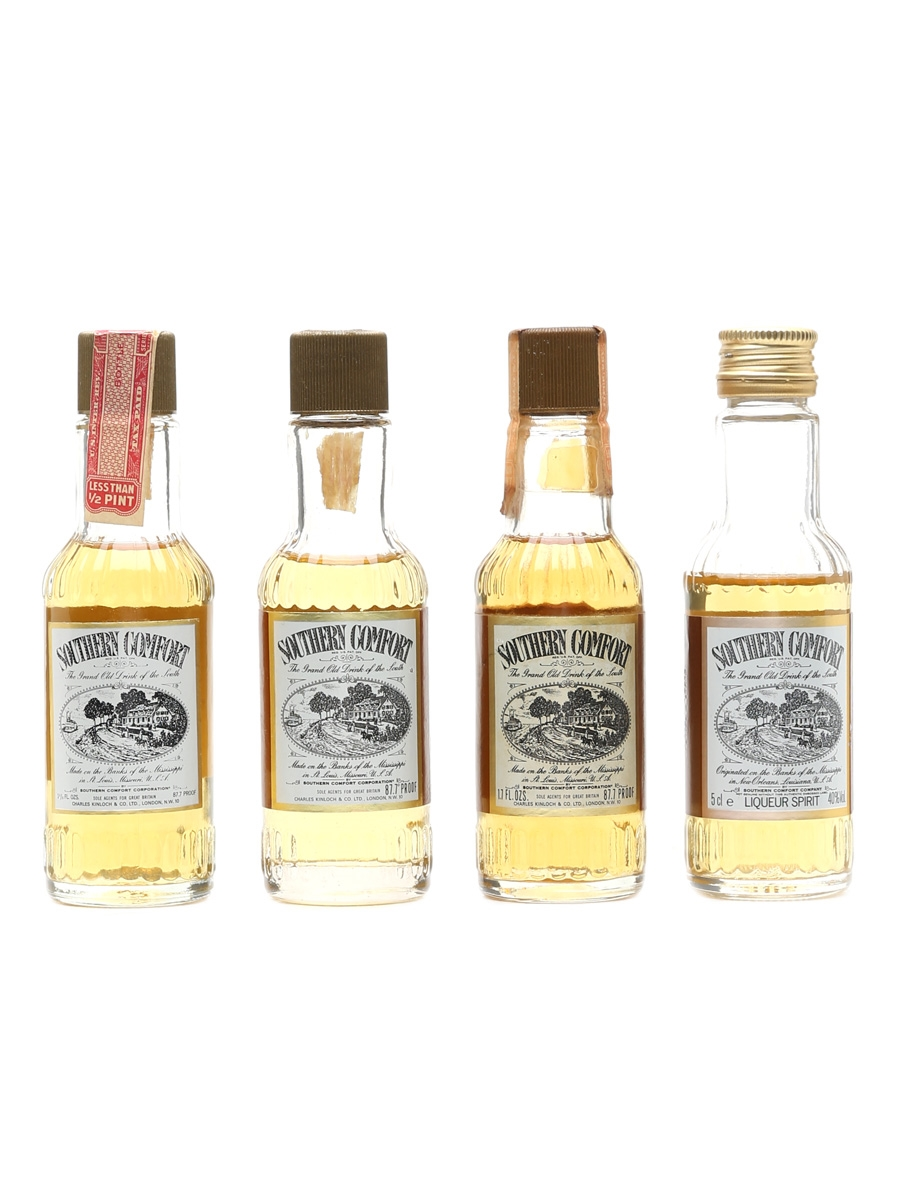 Southern Comfort  4 x 5cl