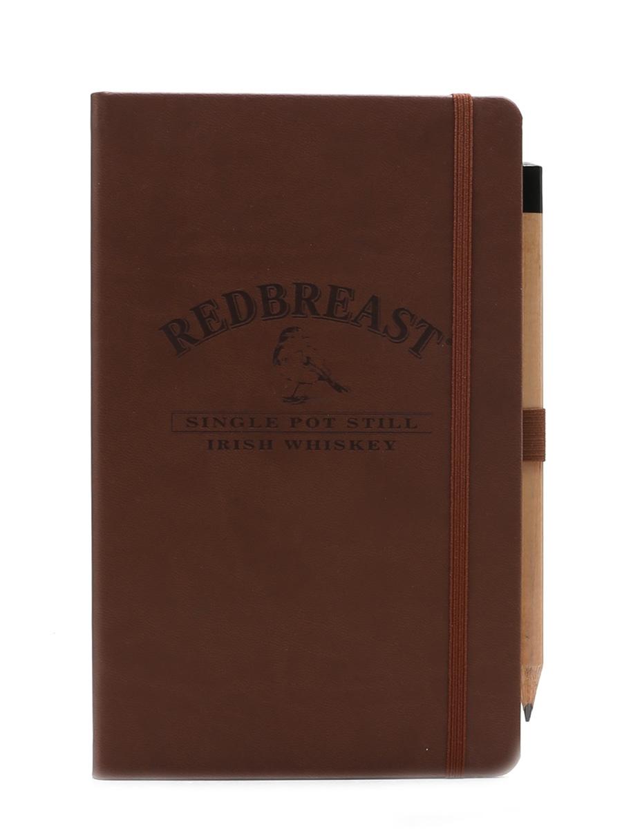Redbreast Irish Whiskey Notepad & Pencil Castelli 21cm x 13cm