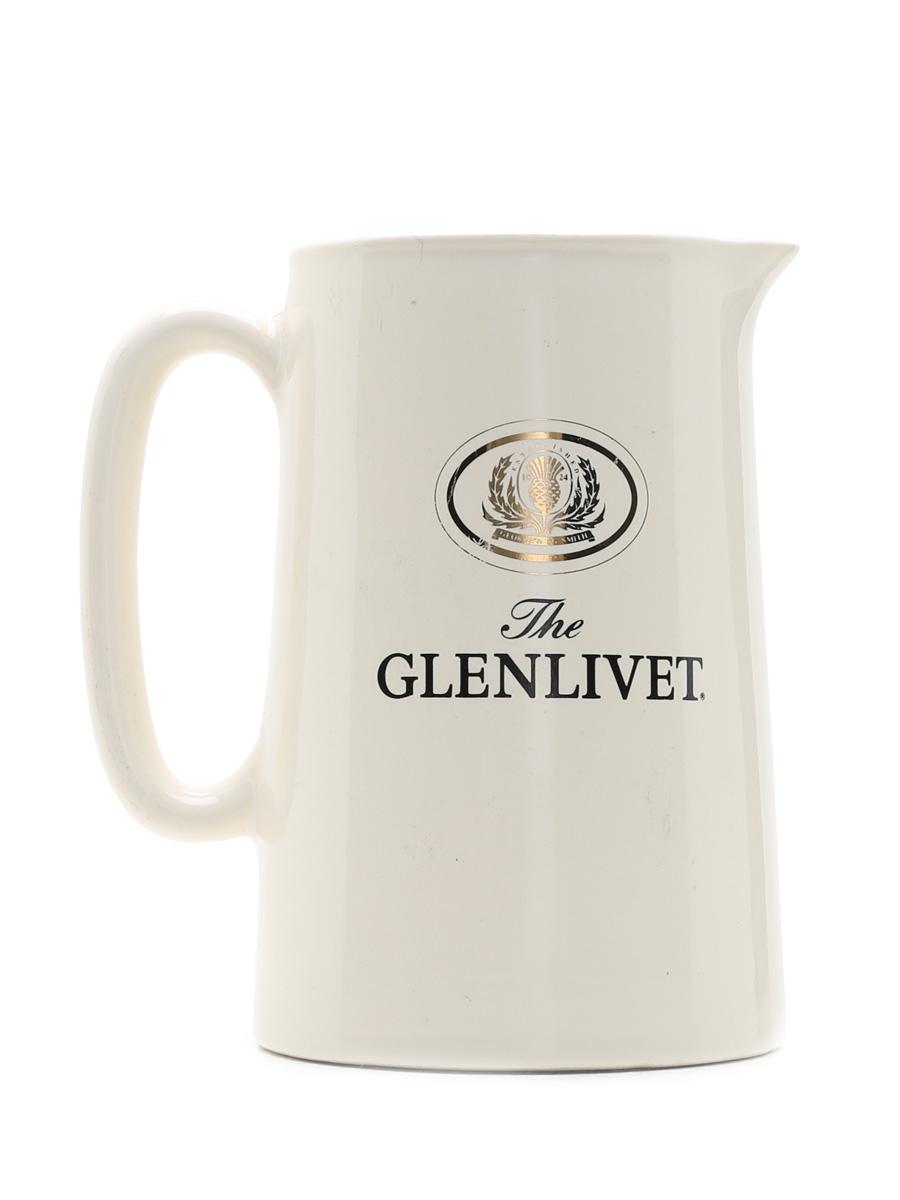 Glenlivet Water Jug Eastgate England 14cm x 13cm x 9.5cm
