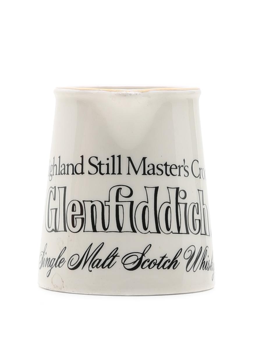 Glenfiddich Highland Still Master's Crock Water Jug  7cm x 8.5cm x 6cm