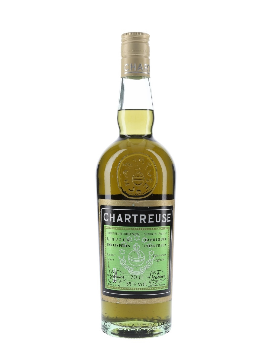 Chartreuse Green Bottled 1977-1982 70cl / 55%