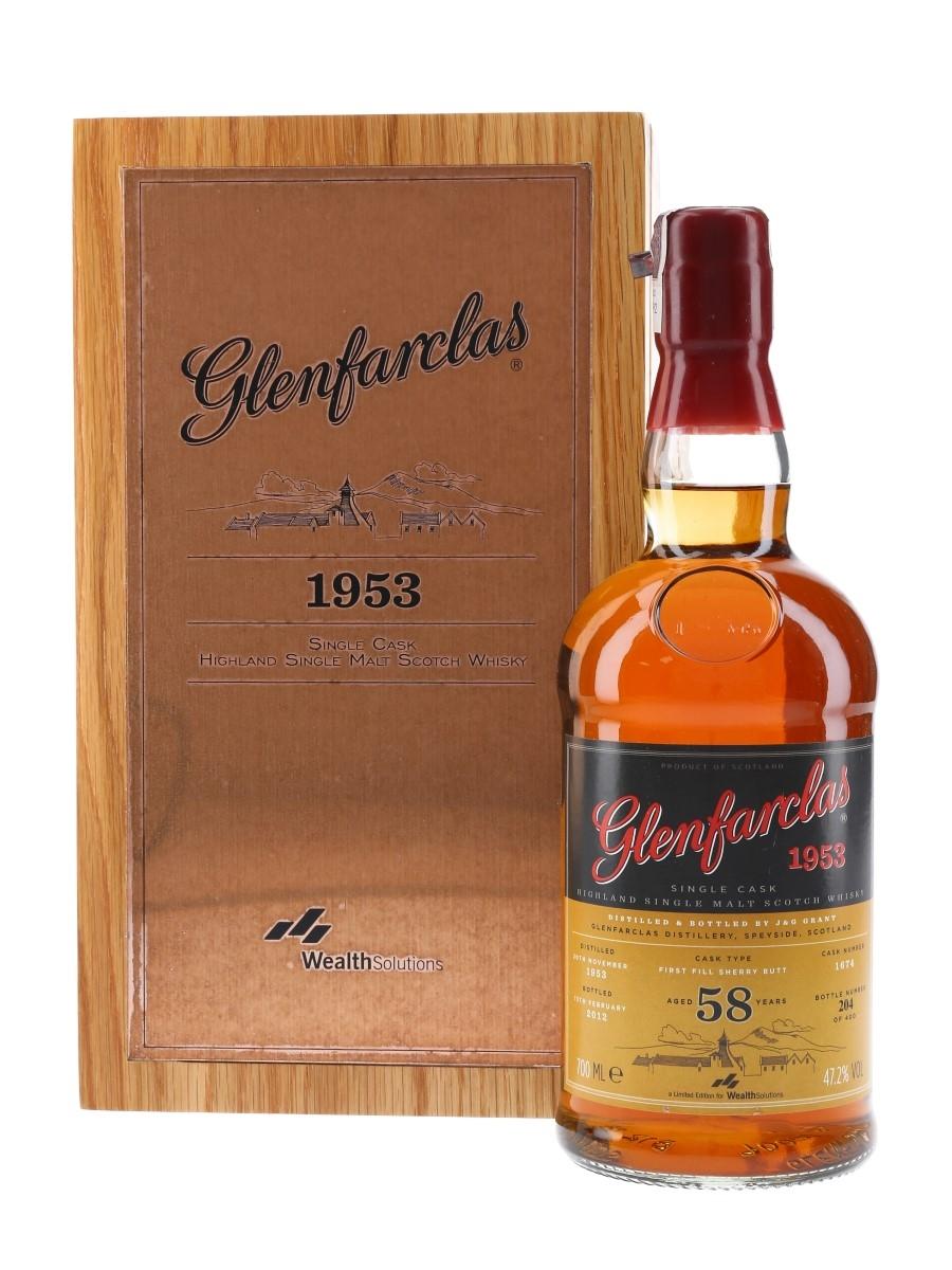 Glenfarclas 1953 Single Cask 58 Year Old 70cl / 47.2%