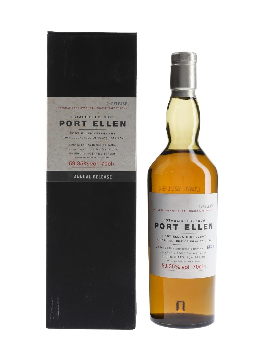 Port Ellen 1978 24 Year Old Special Releases 2002 - 2nd Release 70cl / 59.35%