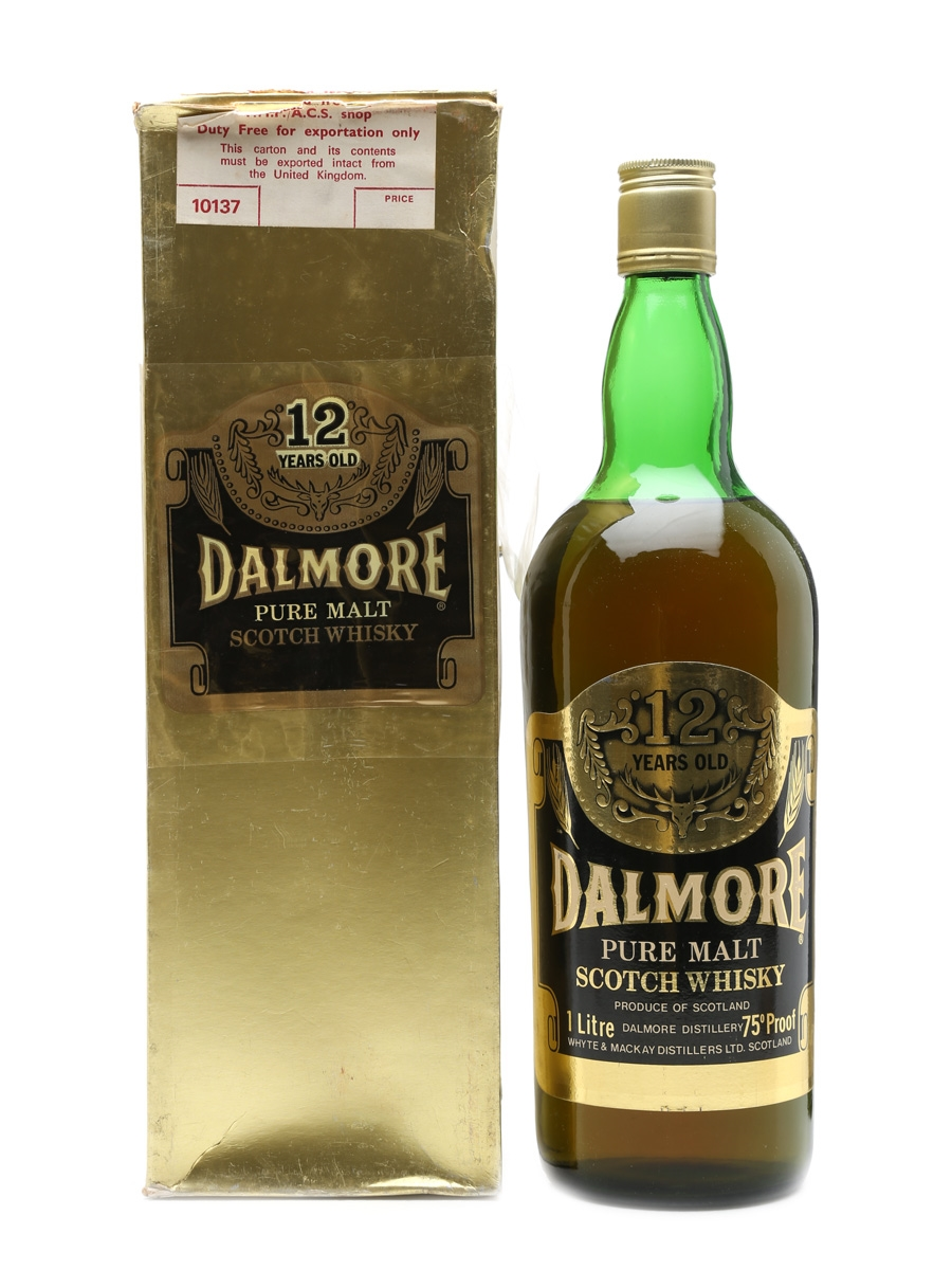 Dalmore 12 Years Old Bottled 1970s 100cl