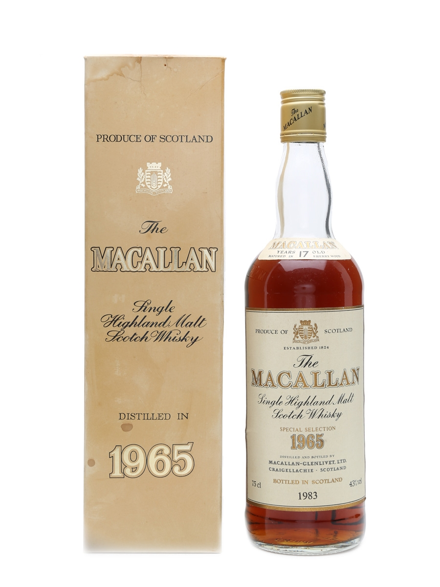 Macallan 1965 17 Years Old Special Selection 75cl