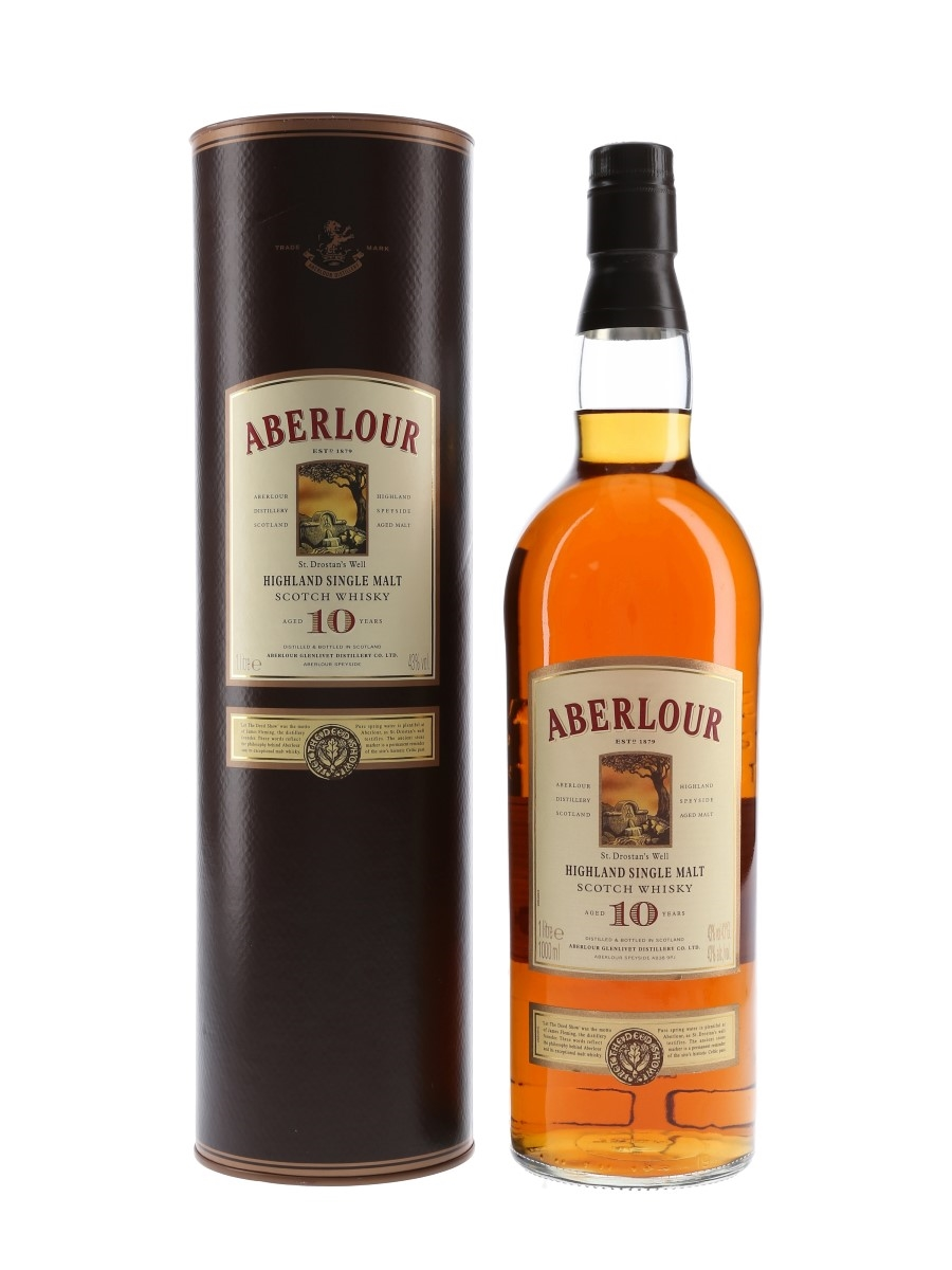 Aberlour 10 Year Old Bottled 2008 100cl / 43%