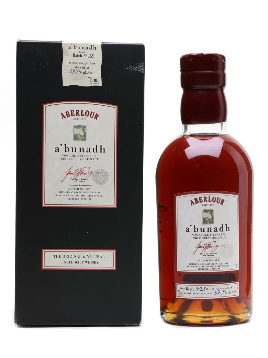Aberlour A'bunadh Batch 28 70cl / 59.7%