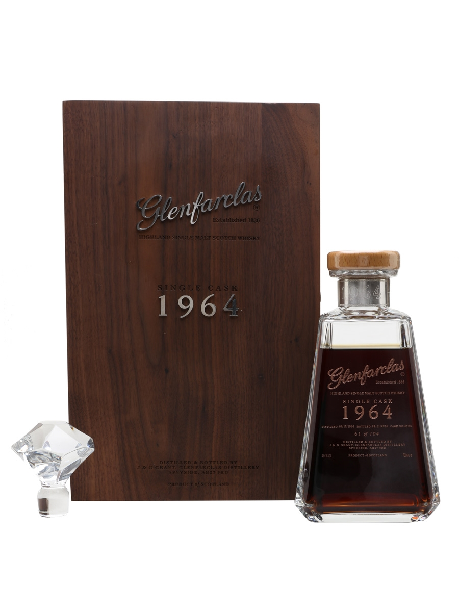 Glenfarclas 1964 Single Cask Bottled 2015 - Vietnam Market 70cl / 46.4%